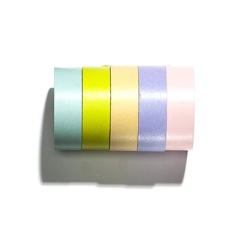 Rubans Masking Tape 'Light Colors'