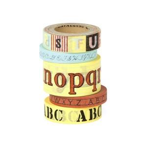 Rubans Adhésifs Paper Tape 'Alphabet'