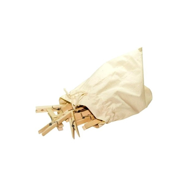 Pinces à Linge Bois Grand Format